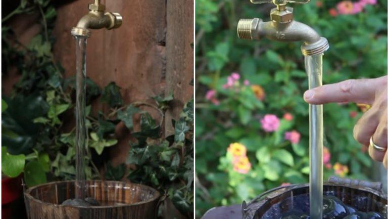 Video: Ako si vyrobiť magickú vodnú fontánu