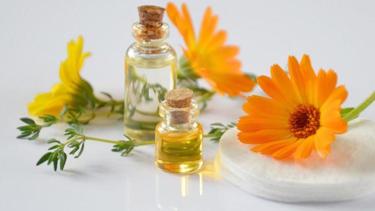 Nechtíkový olej pri zápaloch kože