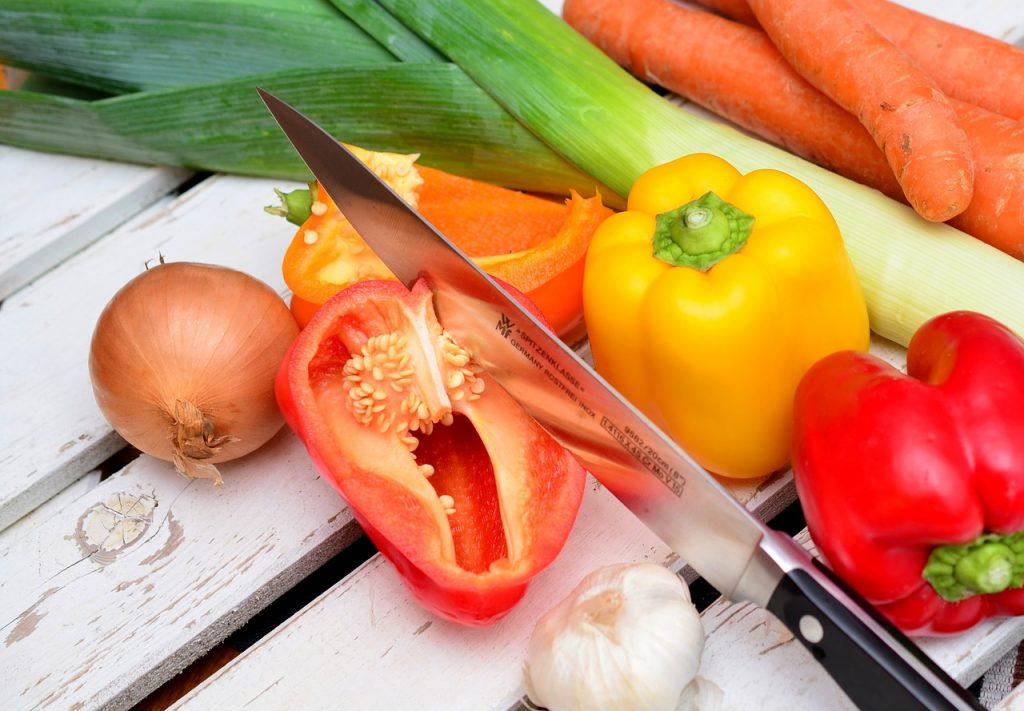 mletá zelenina, recept