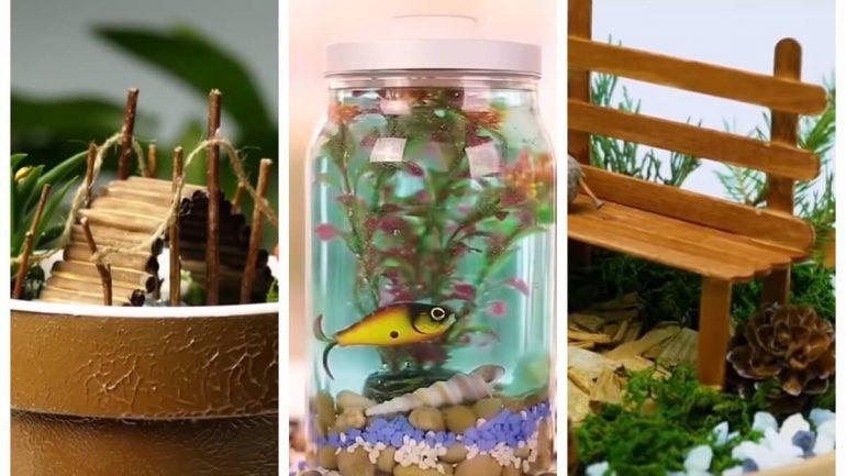 Úžasné miniatúrne svety, ktoré zvládnete vyrobiť aj vy