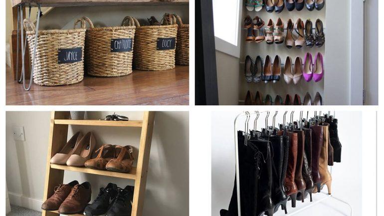 Nápady na uskladnenie topánok