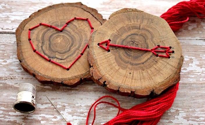 Úžasne inšpirácie z drevených kruhov