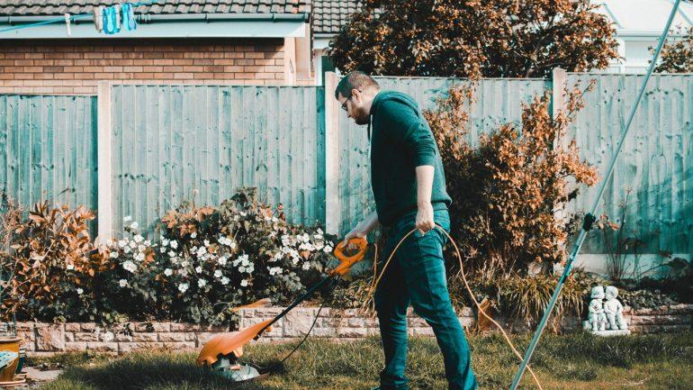 záhradné práce pred odchodom na dovolenku