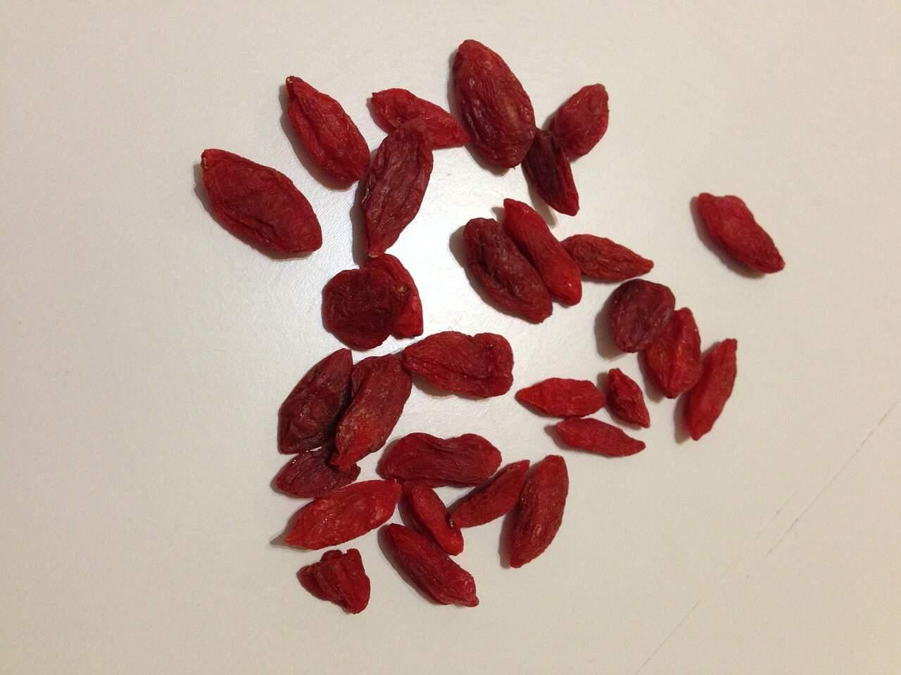 Plody kustovnice čínskej