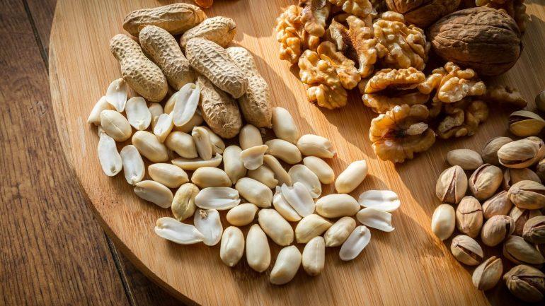 3 druhých výživných orechov