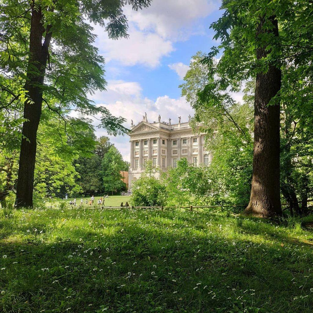 tajomná záhrada v Miláne