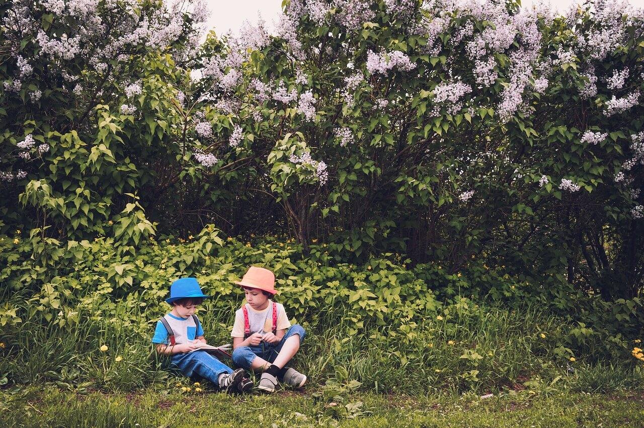 škola v záhrade, deti