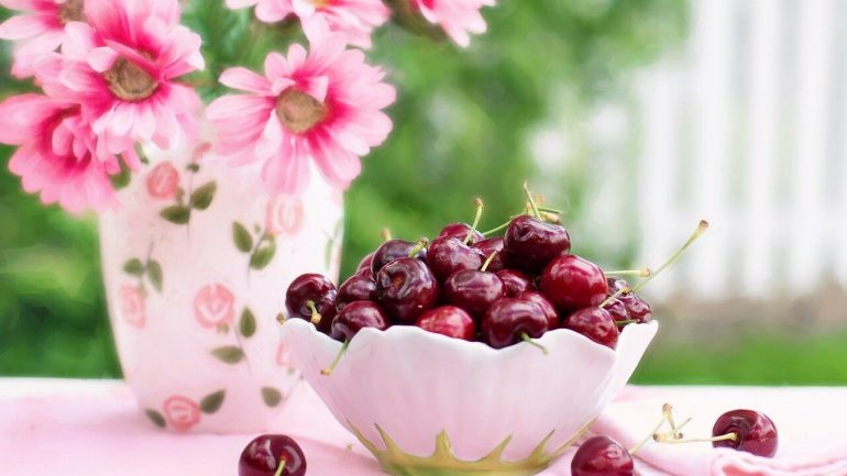 recept na čerešne s cukrom