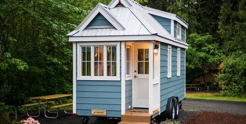 Tento dom ponúka aj miniverandu.