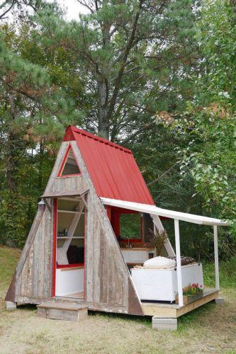 Dom v tvare písmena A stál jeho majiteľa len 1 200 dolárov.