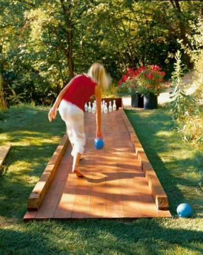 Bowling z dlaždíc