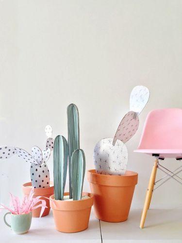Kaktusy z papiera