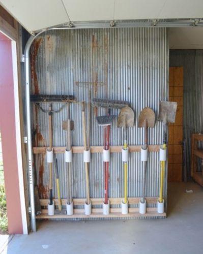 Nápady pre organizáciu garáže
