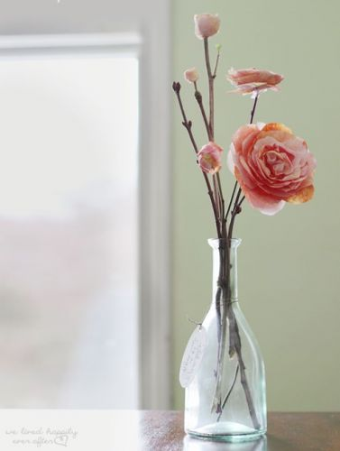 Papierové ruže