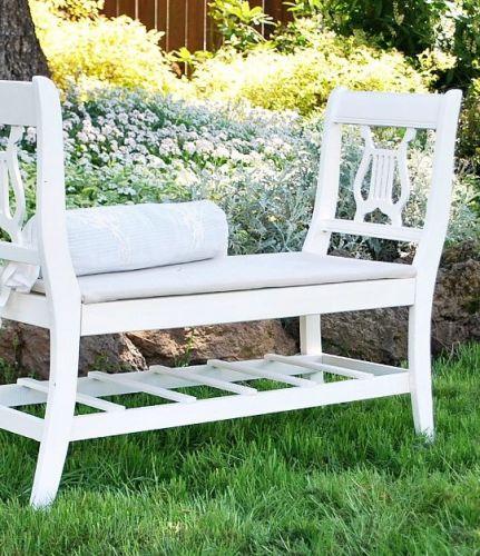 Pekný nápad na lavičku